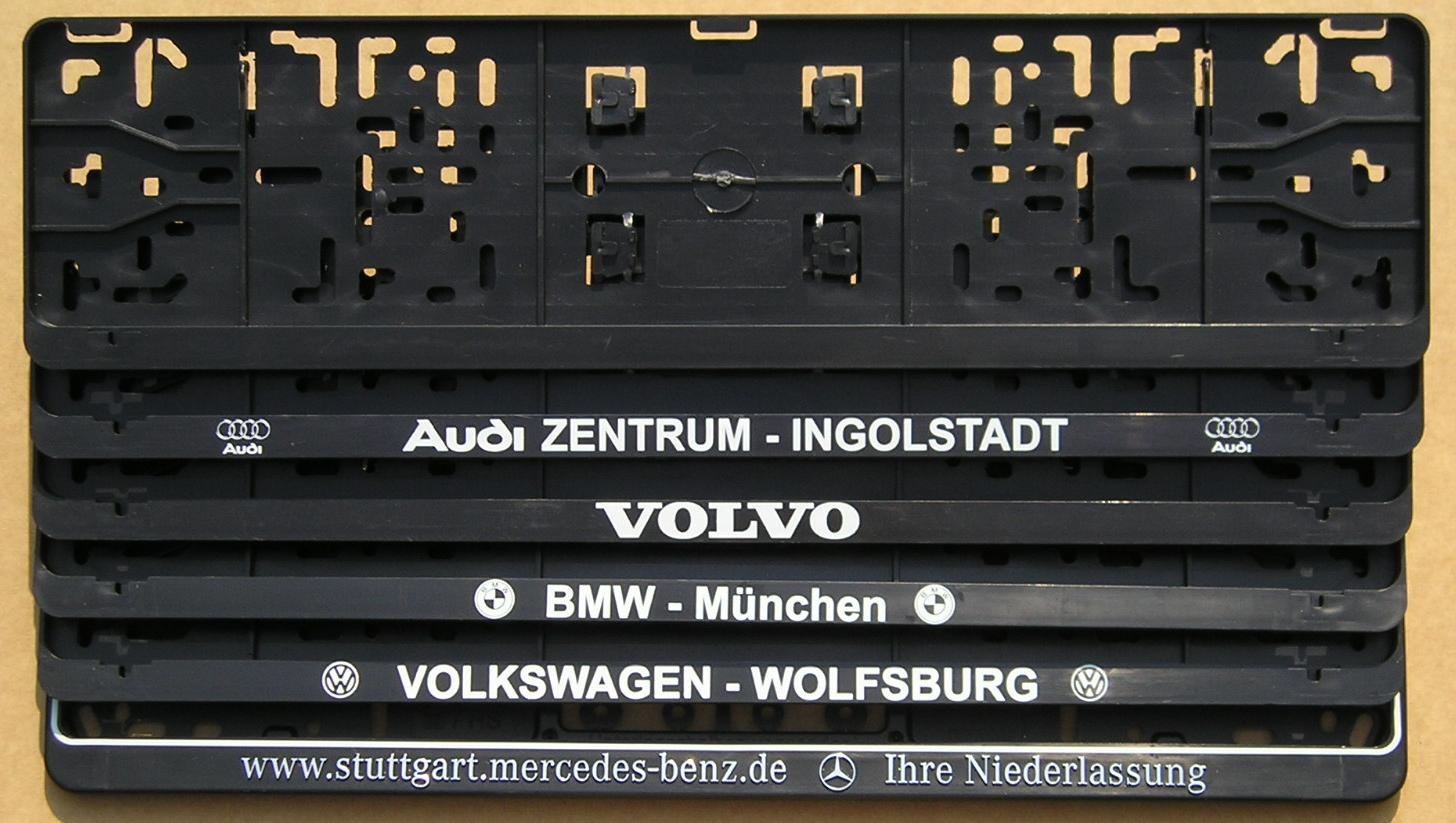 Amazing European License Plate Frame Image - Picture Frame Ideas ...